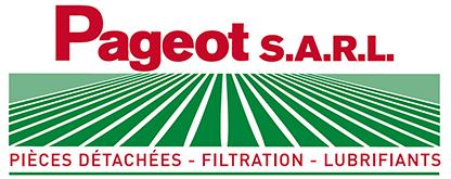 Logo établissement Pageot - Ventes pièces détachées, filtration, lubrifiants